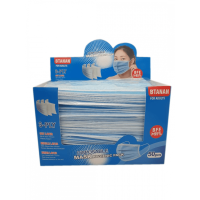 DISPOSABLE 3PLY FACE MASK SINGLE PACK
