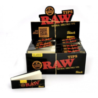 RAW BLACK PAPER TIPS / ROACHES 50S