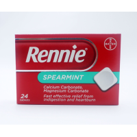 RENNIE SPEARMINT 24 TABLETS X 8