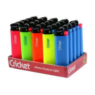 CRICKET FLINT DISPOSABLE LIGHTER 25S