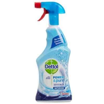DETTOL POWER AND PURE BATHROOM 6 X 750ML