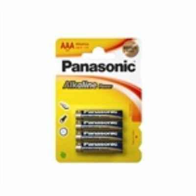 PANASONIC ALKALINE AAA - LR03 4 PACK