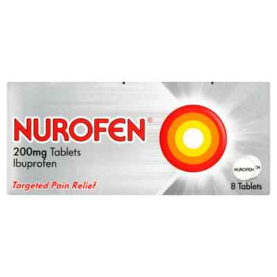 NUROFEN TABLETS 200MG 8S X 24