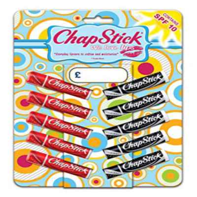 CHAPSTICK ORIG/STRAWBERRY 10PK BLISTERED