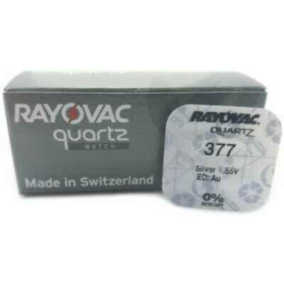 RAYOVAC SILVER OXIDE 377 - SR626