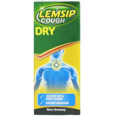 LEMSIP COUGH DRY SYRUP 100ML X 6
