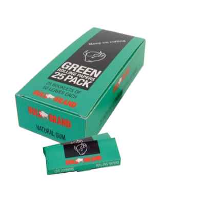 BULLBRAND GREEN STD 25 PACK