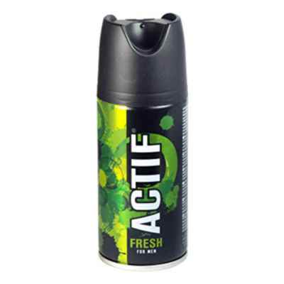 ACTIF MEN BODY SPRAY FRESH 150ML X 12