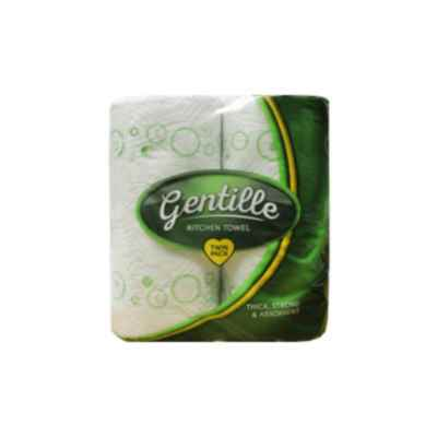 GENTILLE KITCHEN TOWEL 3PLY 2 ROLL X 12