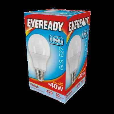 EVEREADY LED GLS 5.5W E27 DAYLIGHT