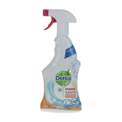 DETTOL POWER AND PURE KITCHEN 6 X 750ML