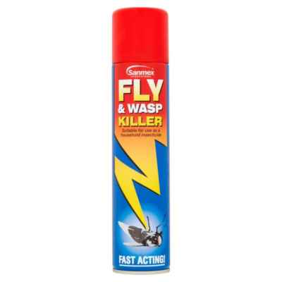 SANMEX FLY & WASP KILLER 300ML X 12