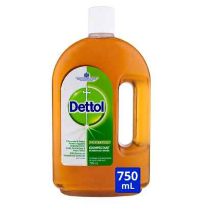 DETTOL DISINFECTANT LIQUID 750ML X 6
