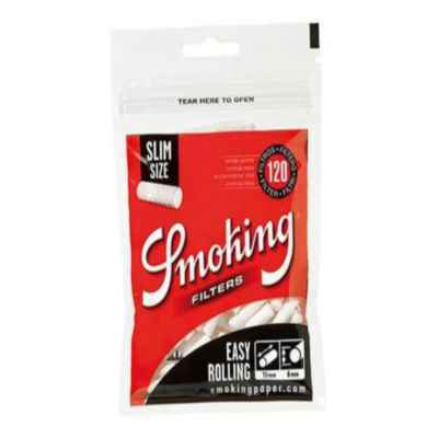 SMOKING SLIM EASY ROLLING FILTERS 150S X 5
