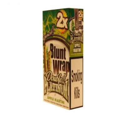PLATINUM BLUNTS APPLE MARTINI GREEN 2S X 25