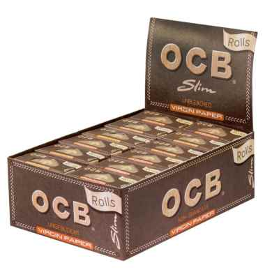 OCB VIRGIN ROLLS X 24