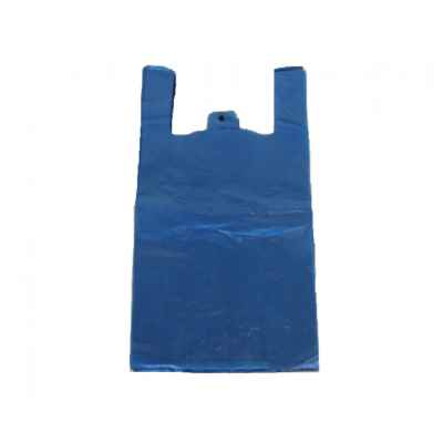 TOPAZ LARGE HD BLUE CARRIER BAGS