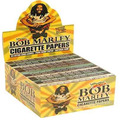 BOB MARLEY PURE HEMP KS PAPER 50S