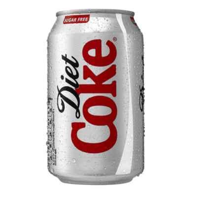 COKE DIET GB CANS 330ML X 24