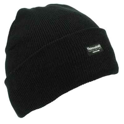 THERMAL HAT BLACK BOYS PACK OF 12