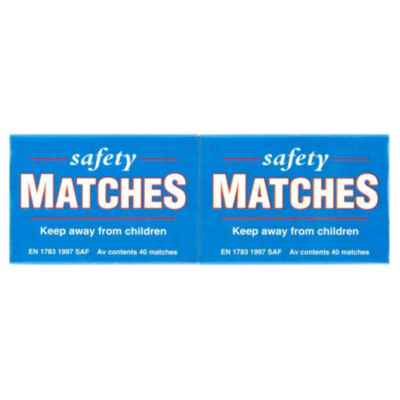 HOUSEHOLD SAFETY MATCHES 250'S X 12