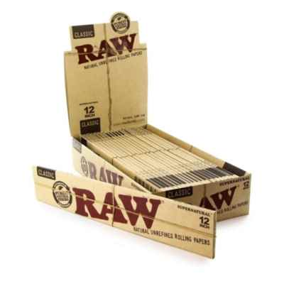 RAW HUGE CLASSIC 12 INCH PAPER 20S