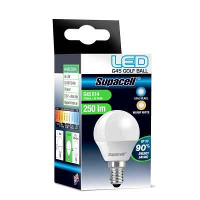 LED GOLF E14 PEARL 3W WARM WHITE