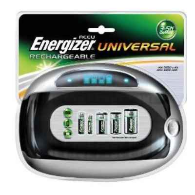 UNIVERSAL BATTERY CHARGER FOR AA, AAA, C, D A