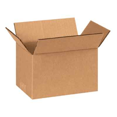 BROWN SMALL PARCEL BOX 12 X 9 X 4 INCH