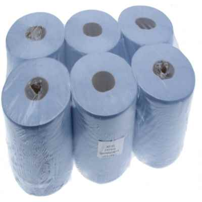 BLUE 180MM CONTRACT ROLL 60M X 6
