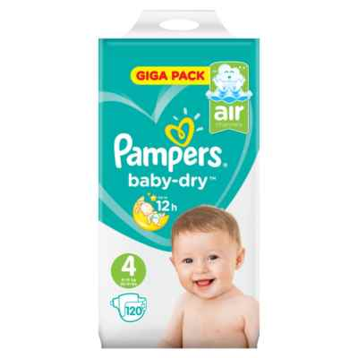 PAMPERS NO 4 MAXI 20S X 8