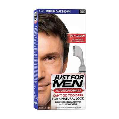 JUST FOR MEN HAIRCOLOUR  A-40 MED DARK BROWN
