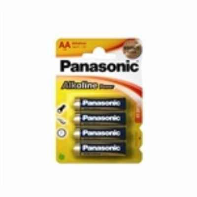 PANASONIC ALKALINE AA - LR6 4 PACK