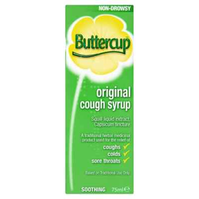 BUTTERCUP SYRUP 75ML X 6