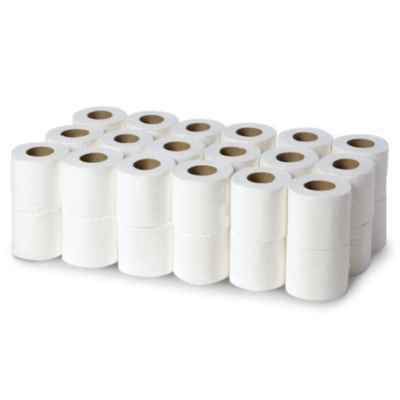 LOOSE T/T 2PLY WHITE X 36 ROLLS
