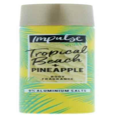 IMPULSE B/S BEACH & PINEAPPLE 75ML X 6