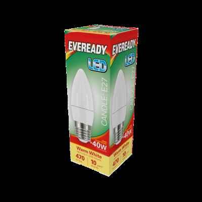 EVEREADY LED CANDLE 5.2W E27 DAYLIGHT