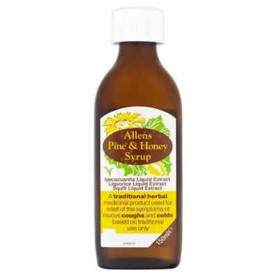 ALLENS PINE & HONEY BALSAM 150ML  X 12
