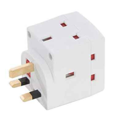 3 WAY MULTI ADAPTOR 13A