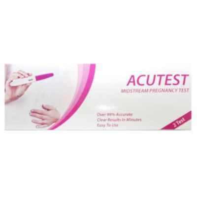 PREGNANCY MIDSTREAM TESTS 2PK X 6