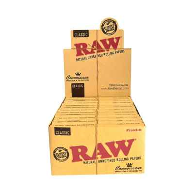 RAW CLASSIC CONNOISSEUR  KS SLIM + PRE ROLLED