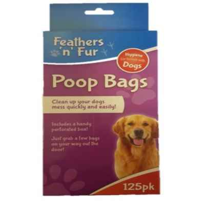 DOG WASTE BAGS 125PK ROLL
