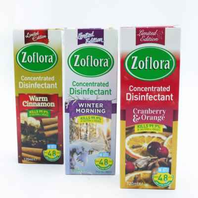 ZOFLORA 120ML WINTER ASSORTMENT 12 PK