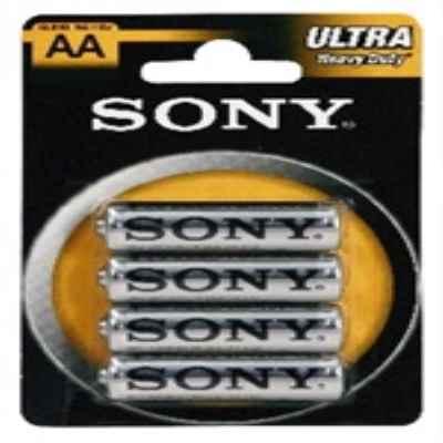 SONY ZINC AA - R6 4 PACK