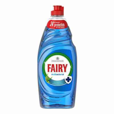 FAIRY ANTIBACTERIAL WASHING UP LIQUID 870ML X