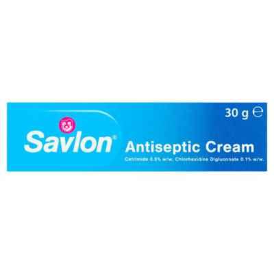 SAVLON ANTISEPTIC CREAM 30G X 6