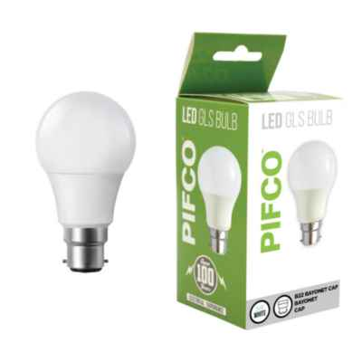 PIFCO LED GLS BULB 9W B22 / BC COOL WHITE