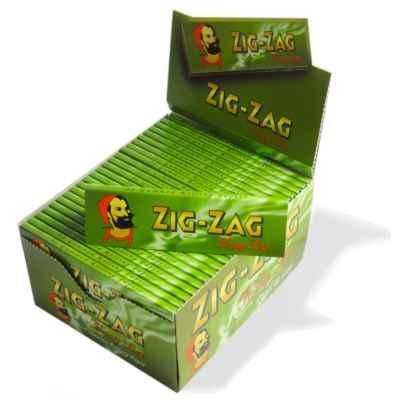 ZIG ZAG GREEN K/S 50S