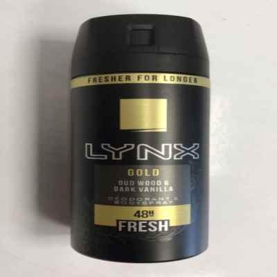LYNX B/SPRAY GOLD 150ML X 6