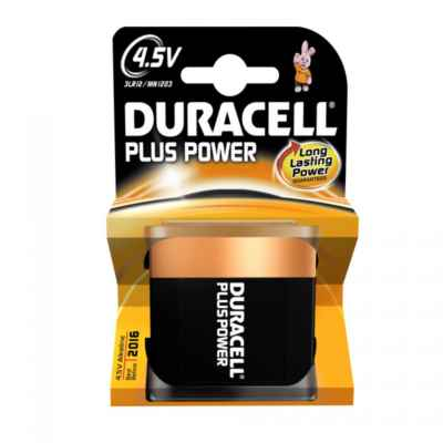 DURACELL 4.5V - MN1203 PLUS 1 PACK